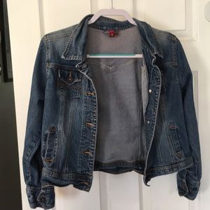 (Juniors XL) SO jean jacket
